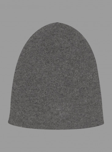 Eco Cashmere rolled finish Beanie Hat
