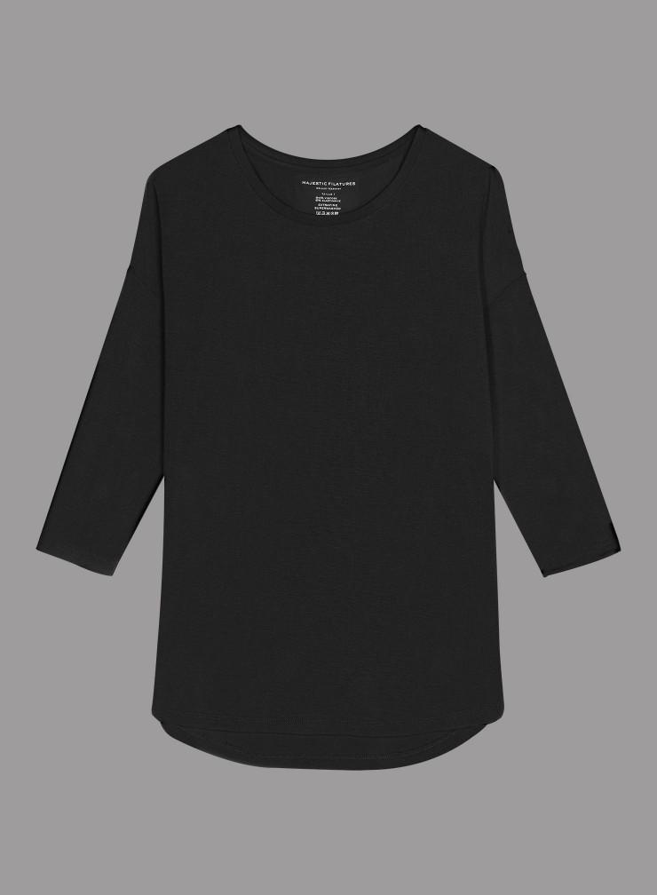 Oversized sailor neck T-shirt