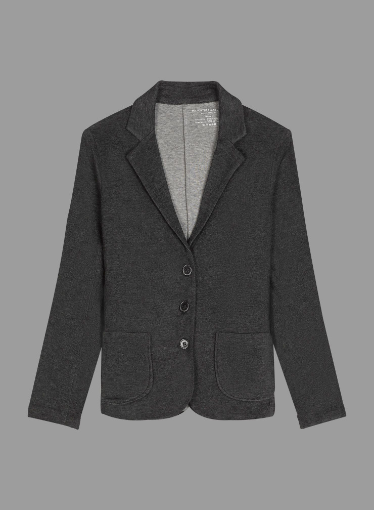 Double face fitted 3 button Jacket