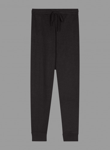 Double face jogger pants