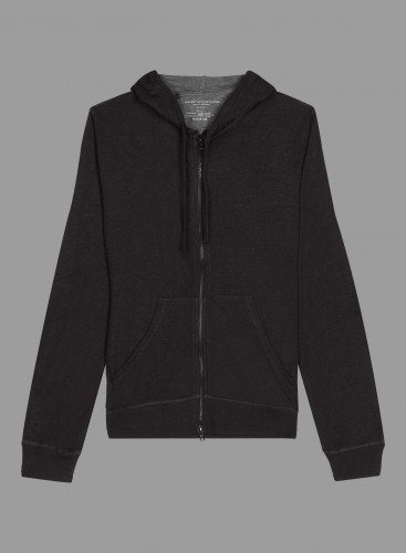 Double face zipped Hoodie