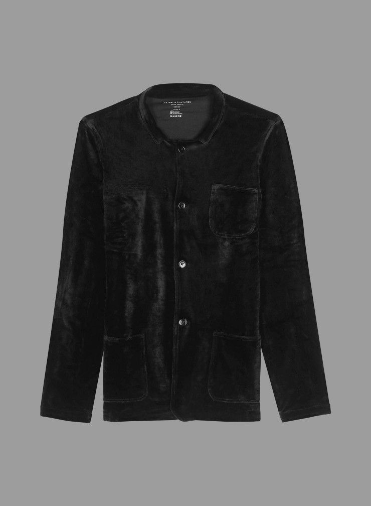 Velvet 3 pockets Jacket