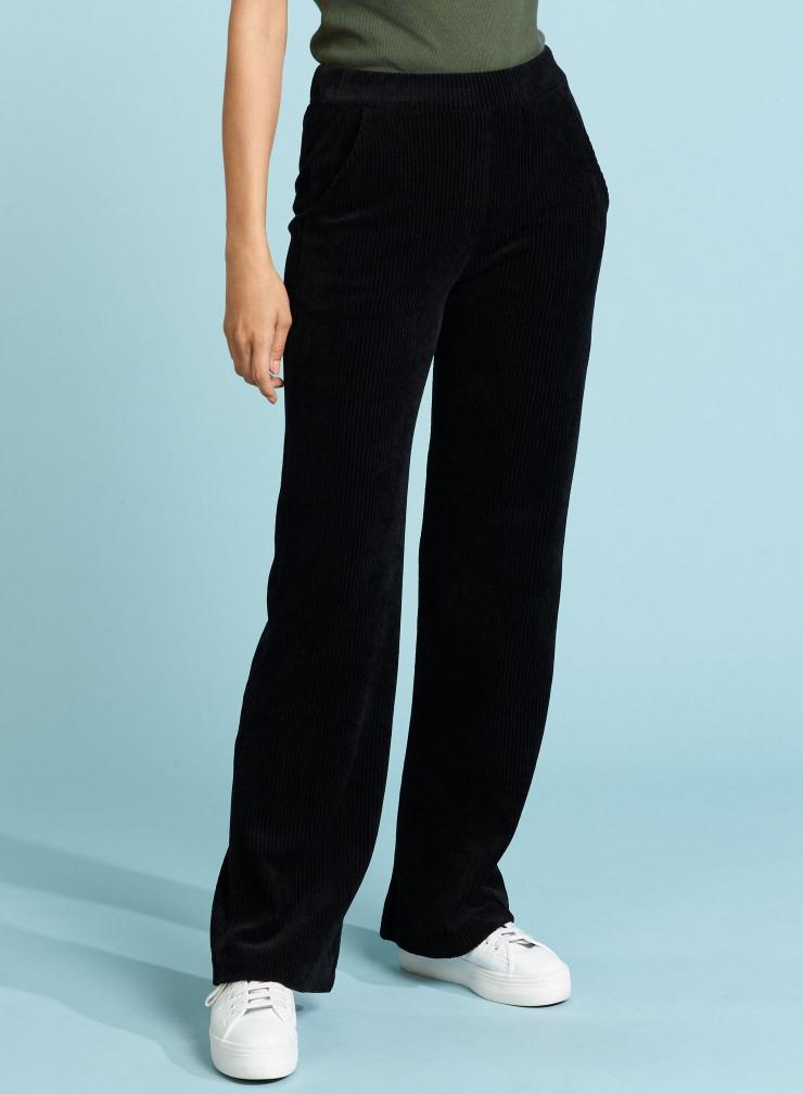Corduroy large fit Pants