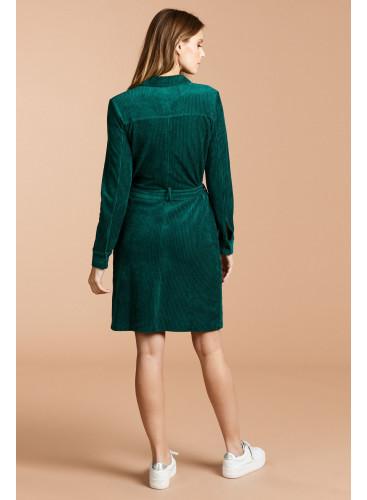 Corduroy western pocket Dress