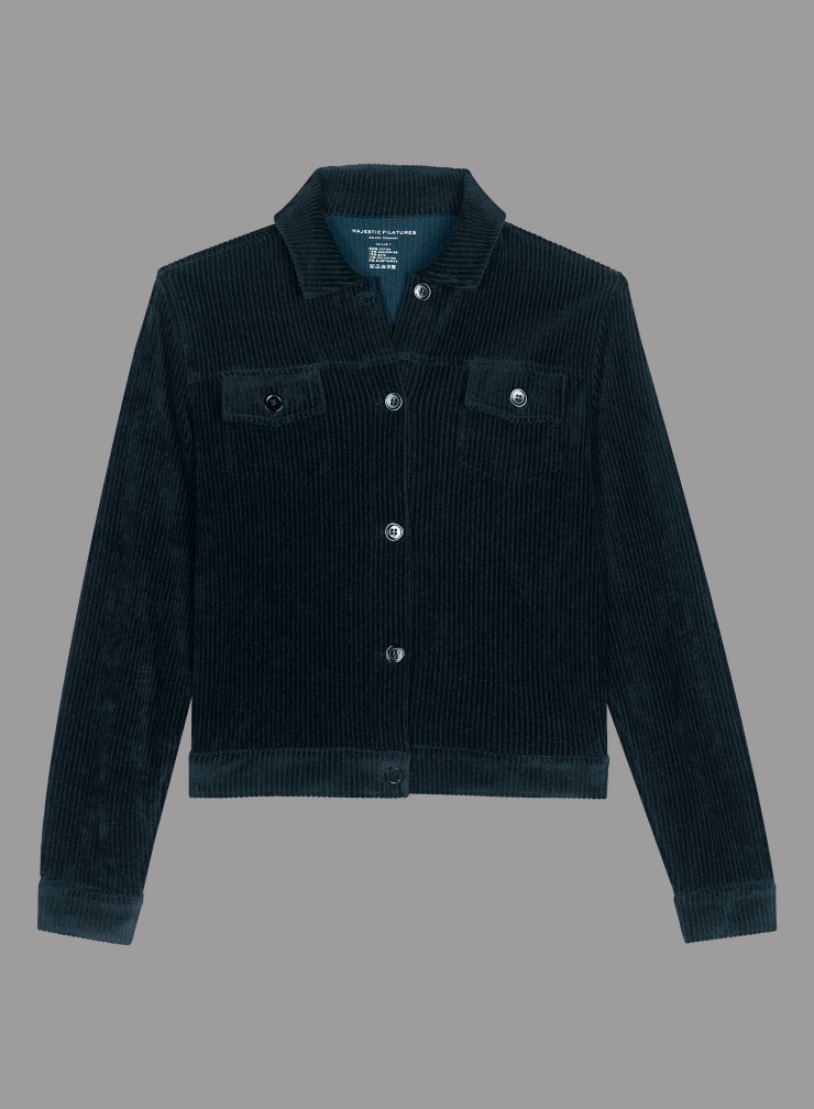 Corduroy western pocket Jacket