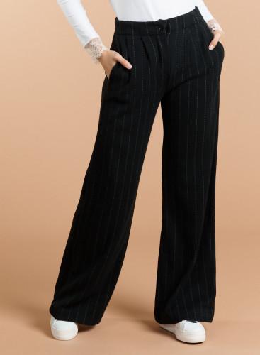 Double face tennis striped large Pants