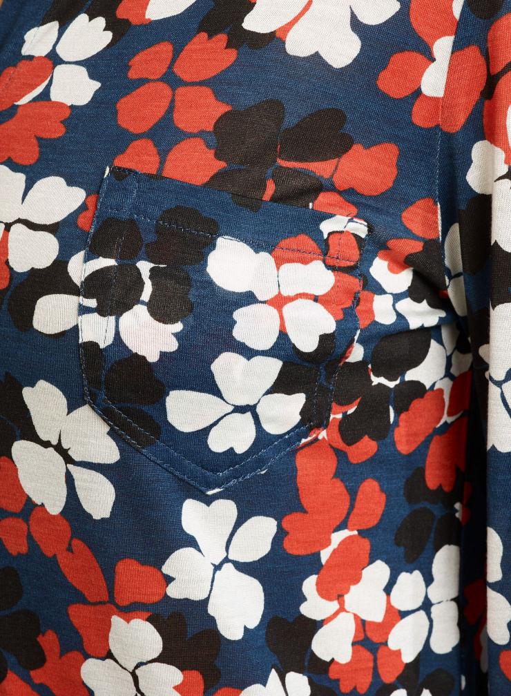 Four-leaf clover printed Shirt