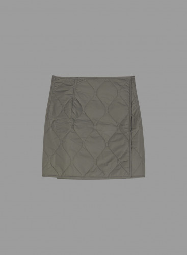Wrap quilted Skirt