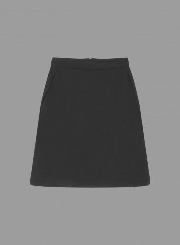 Fine ribbed Skirt