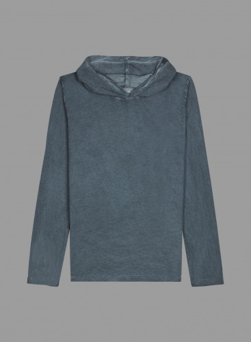 Hand dyed Hoodie T-shirt