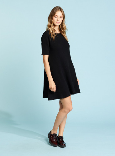 Flared Eco Cashmere Dress