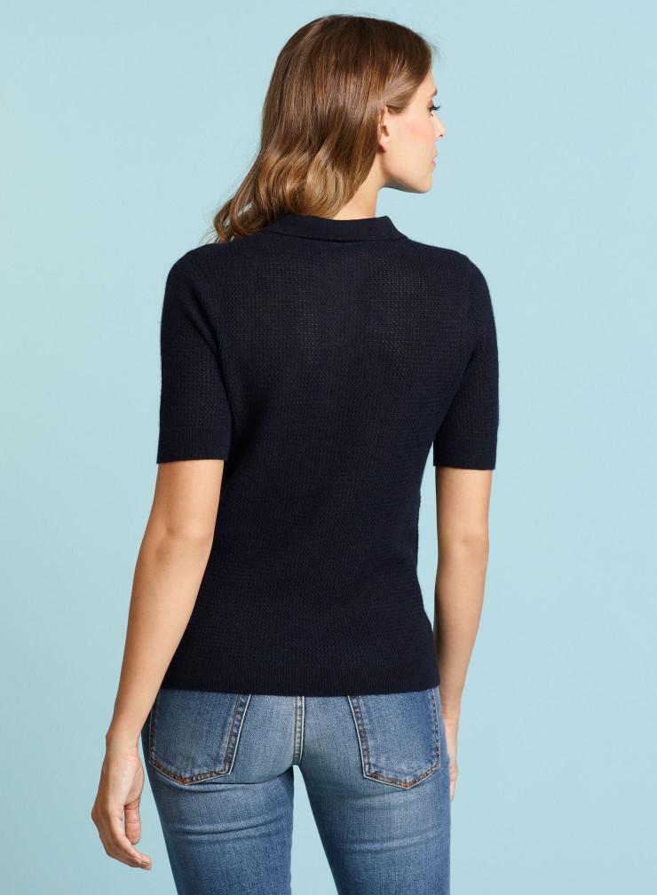 Polo elbow sleeve Sweater