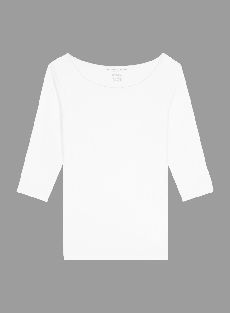 T-shirt col bateau Adèle