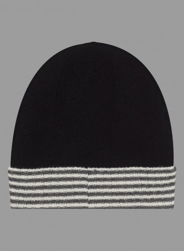 Striped finish Beanie