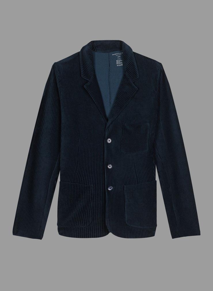 Veste 3 poches velours côtelé