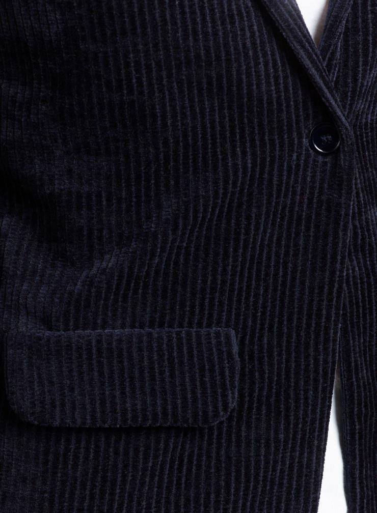 Corduroy 1 button Jacket