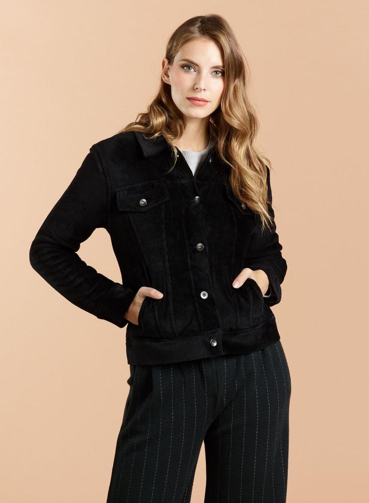 Fantasy fur linned Coat