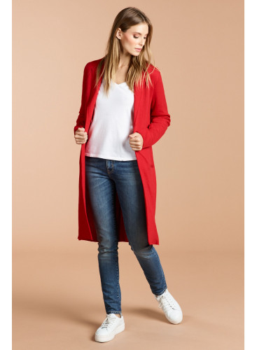 Woolen mix mid-season Coat