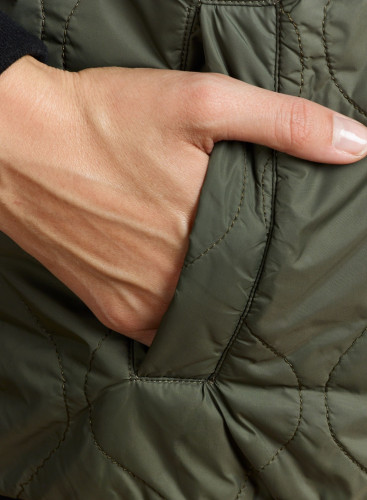 Bomber style quilted Jacket