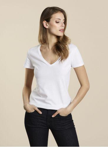 T-shirt col V Julia