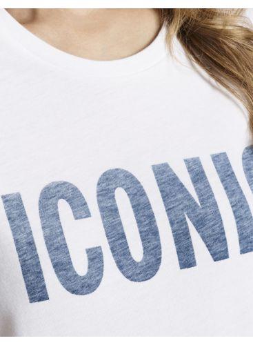 ICONIC Boyfriend Round Neck t-shirt