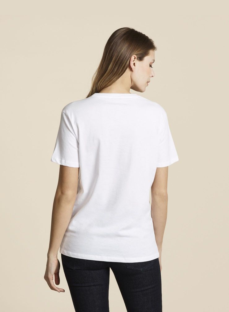 ICONIC Boyfriend Round Neck t-shirt