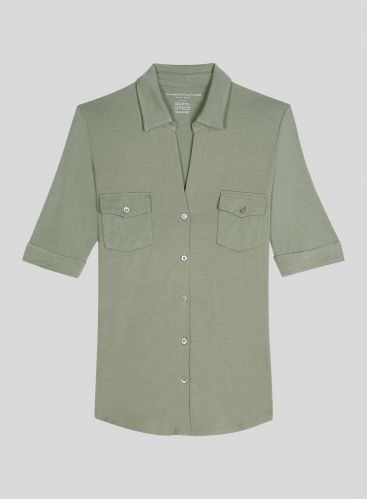 Chemise 2 poches manches 3/4