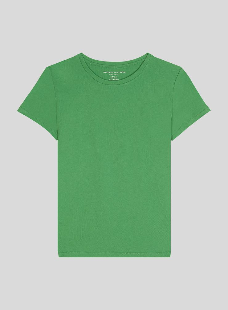 T-shirt col rond Silk Touch