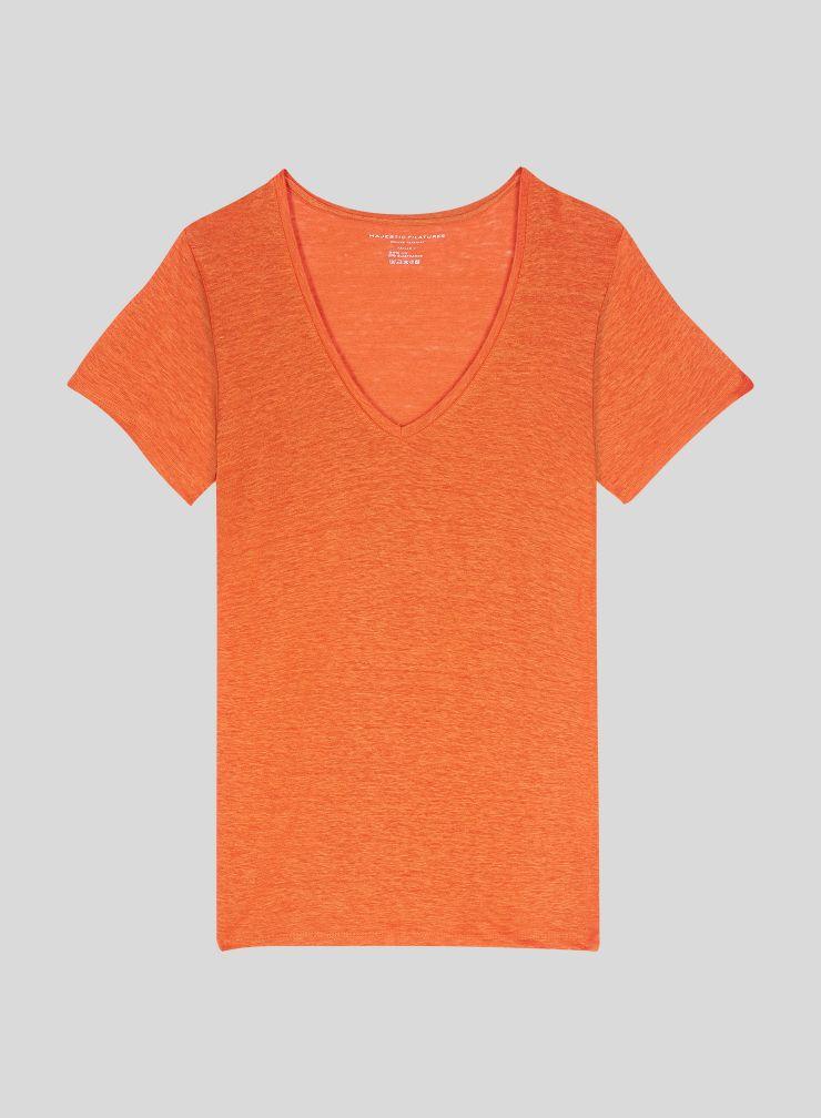 T-shirt Lisa col V