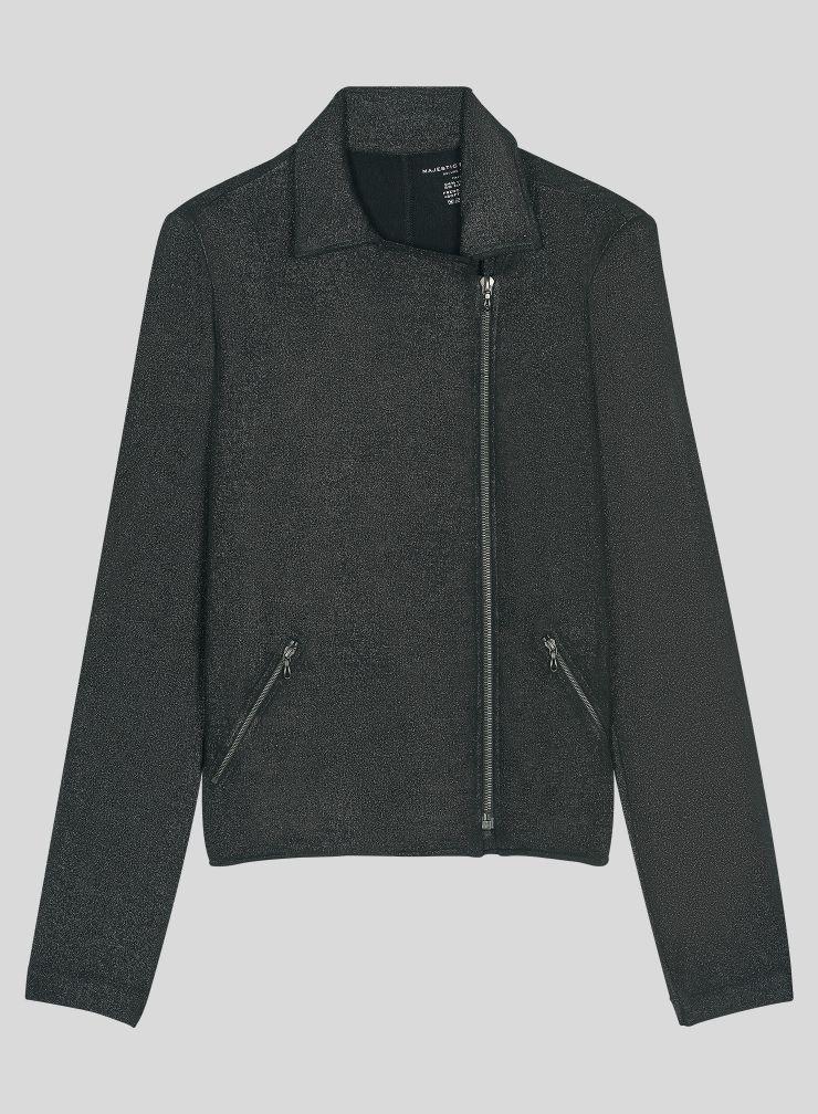 Asymetrical zipped Jacket