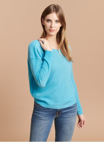 Round neck boxy Sweater