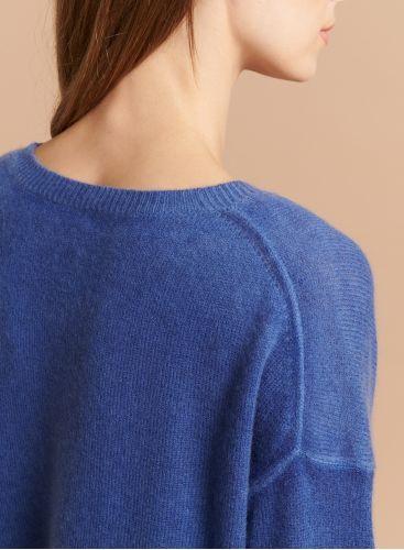Round neck boxy Sweater