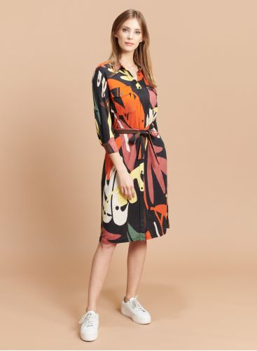Printed pocket Dress