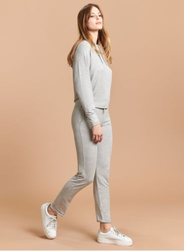 Straight cuffed Shimmering Pants