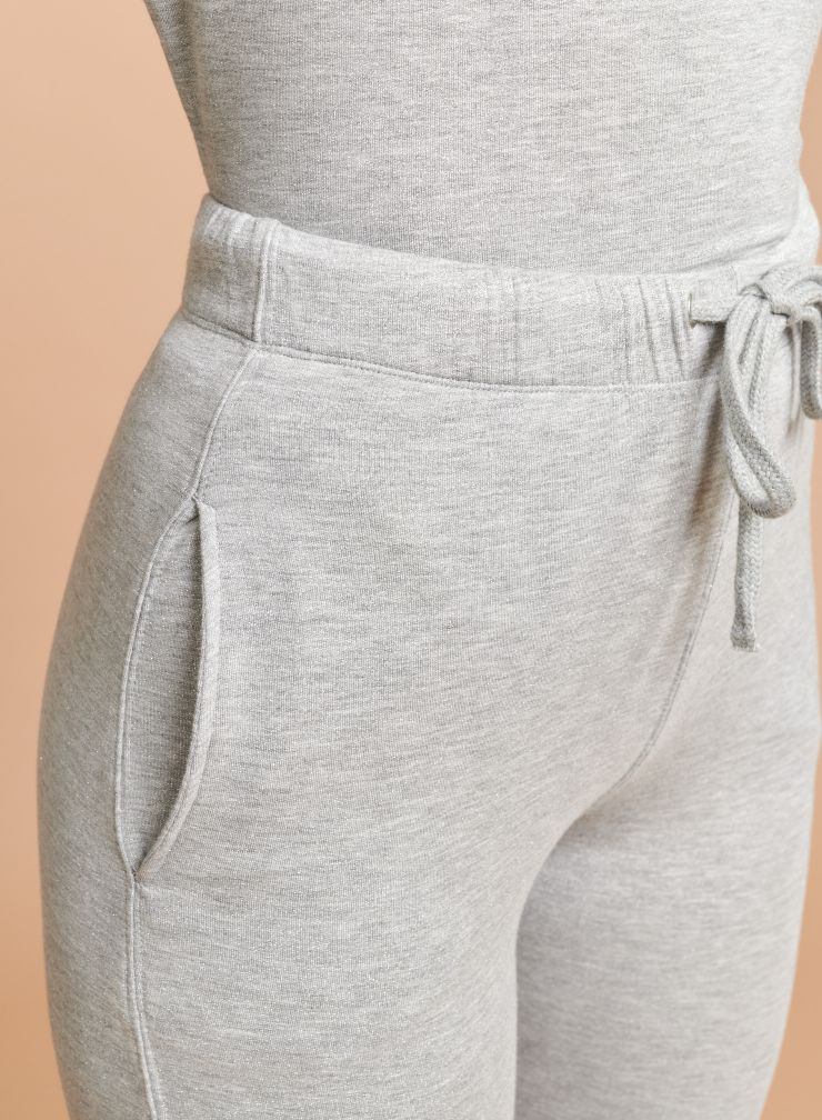Pantalon droit à revers