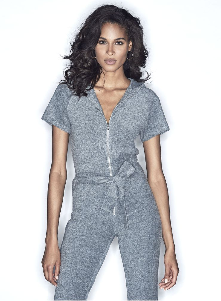 Sponge zipped Jumpsuit