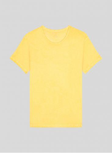 T-shirt col rond Homme teinture artisanale