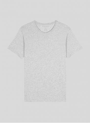 Men's round neck Silk Touch Cotton T-shirt