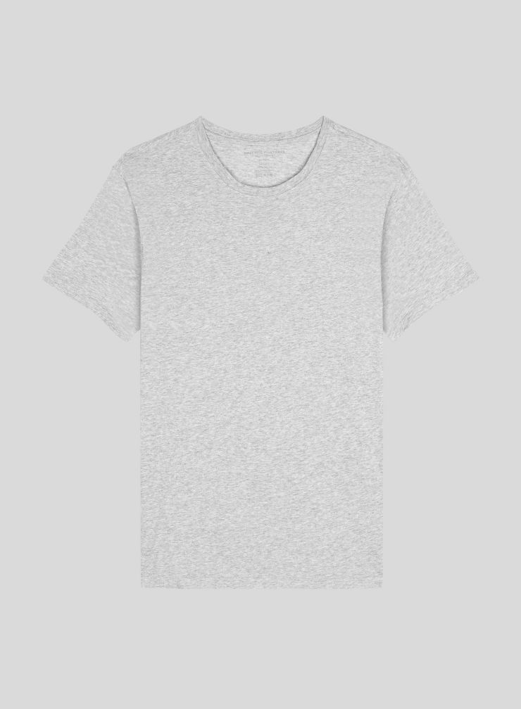 T-shirt col rond Homme Coton Silk Touch