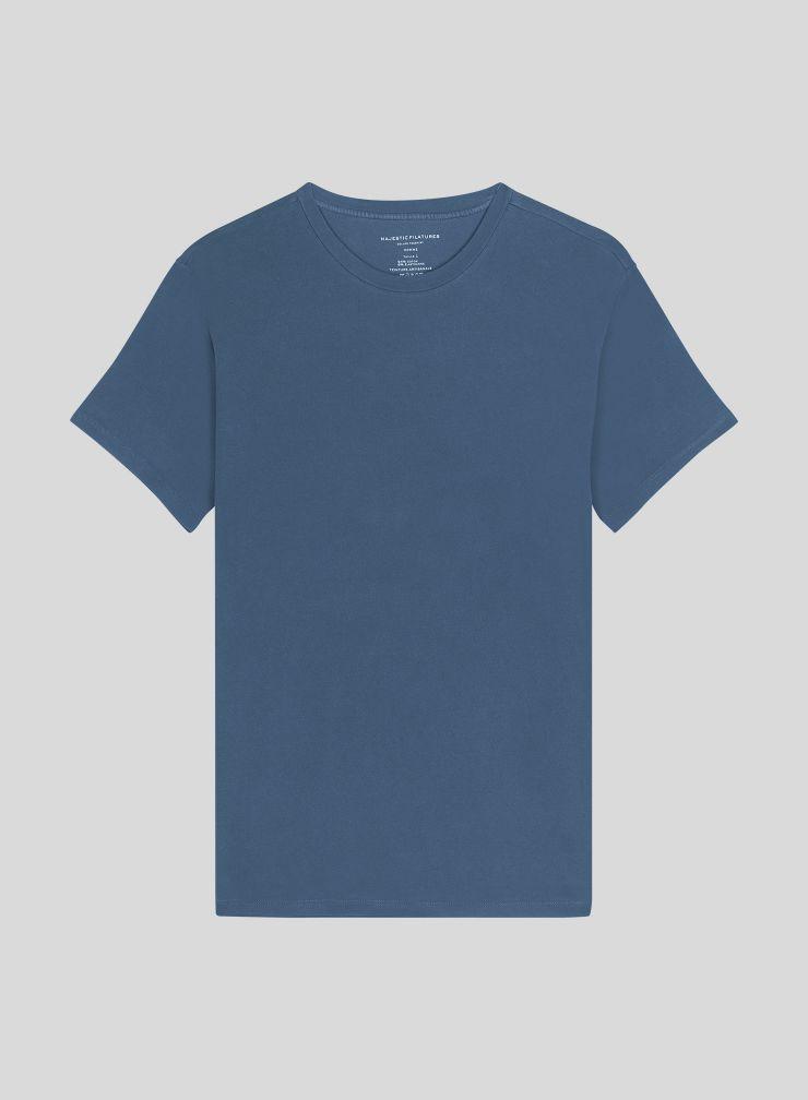 Men's hand dyed round neck T-shirt