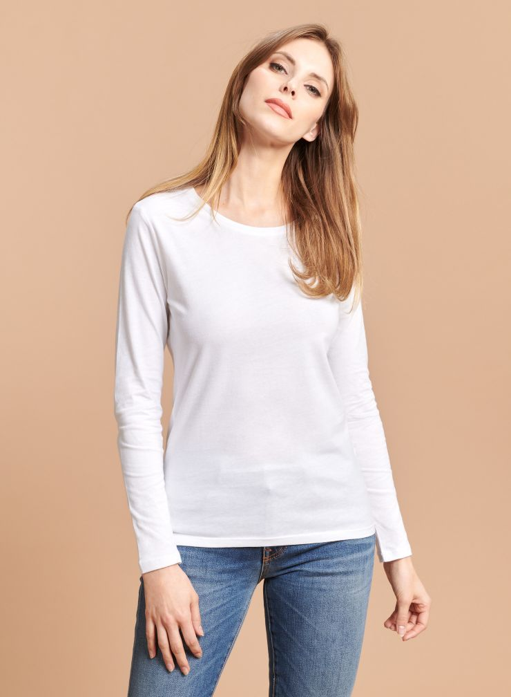 T-shirt col rond Jane