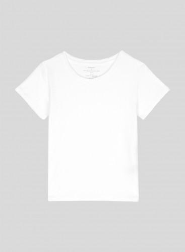 T-shirt col rond éponge