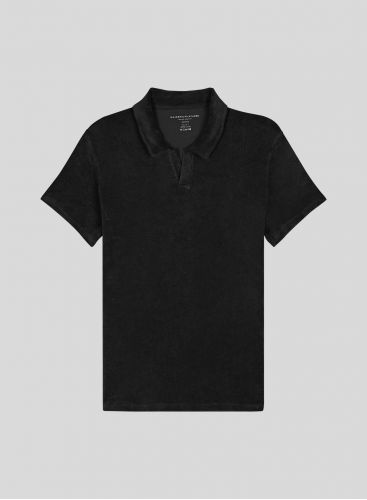 Men's sponge polo shirt