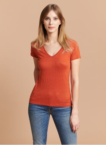 Lisa V-neck T-shirt