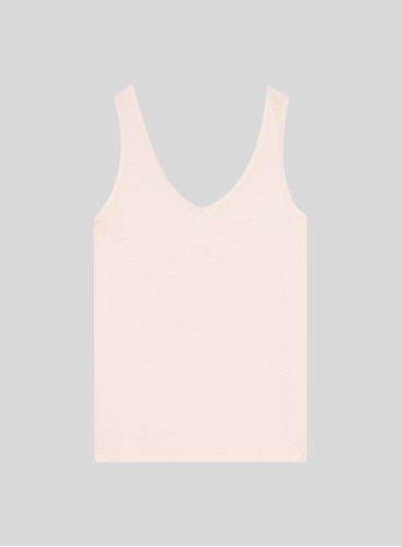 V-neck & back Tank Top