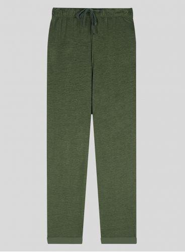 Straight cuffed Pants