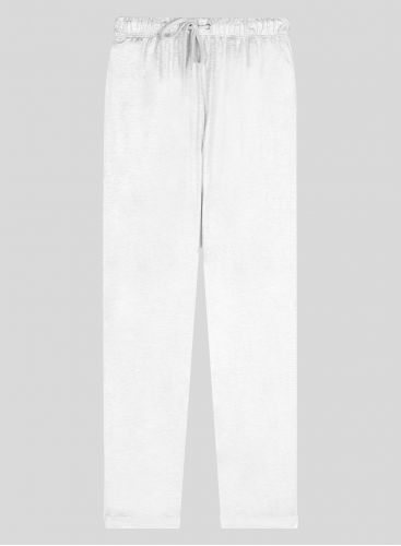 Shimmering straight cuffed Pants