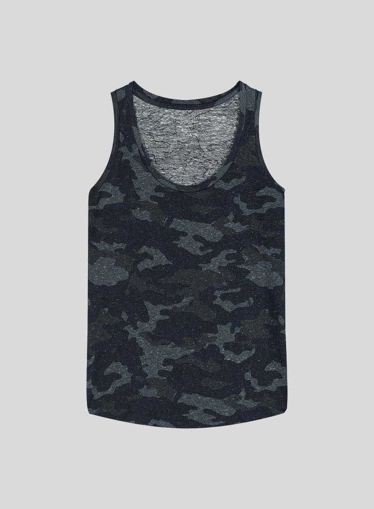Camo printed Tank Top