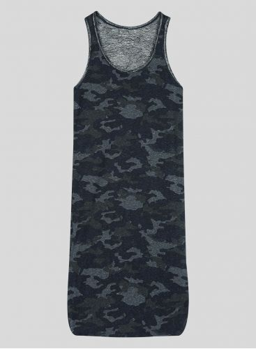 Camo printed Tank Top Dress