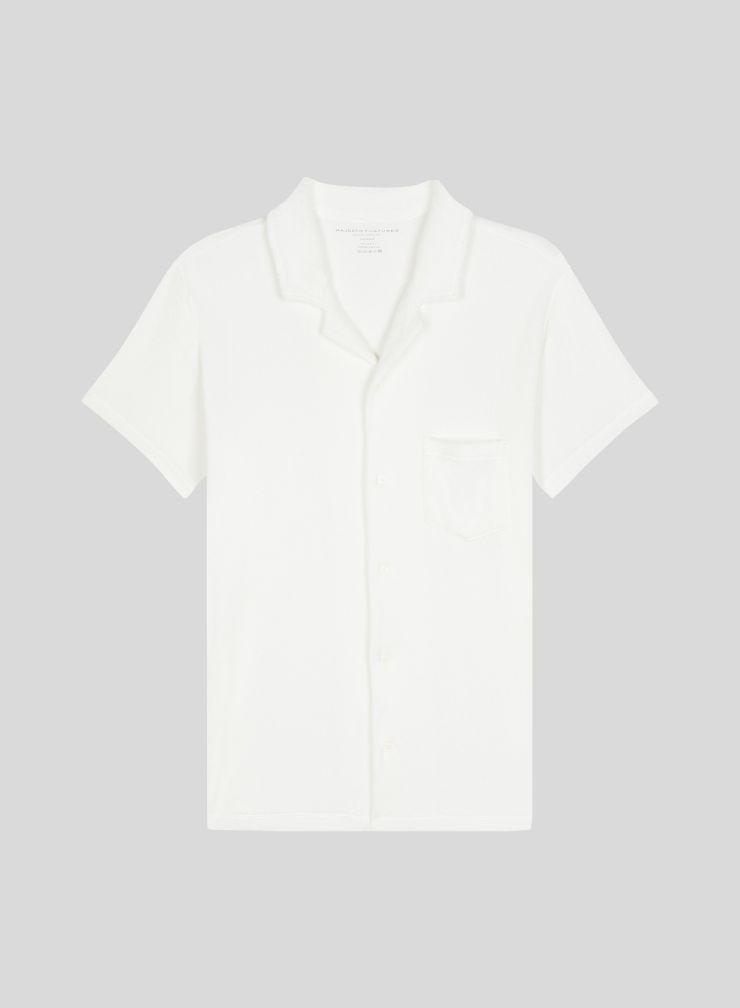 Men's short-sleeved sponge shirt